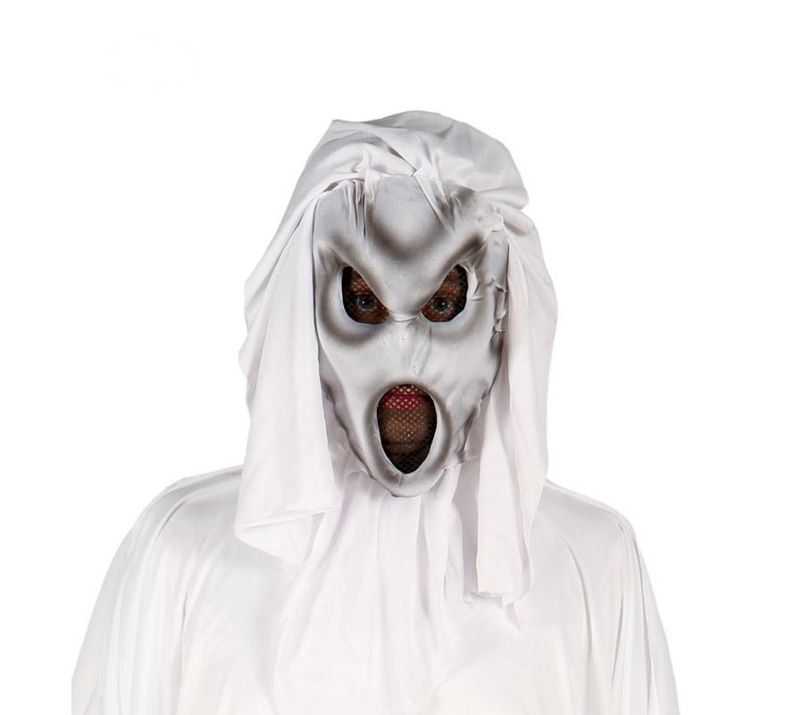Careta o Máscara de Fantasma de la Oscuridad para Halloween