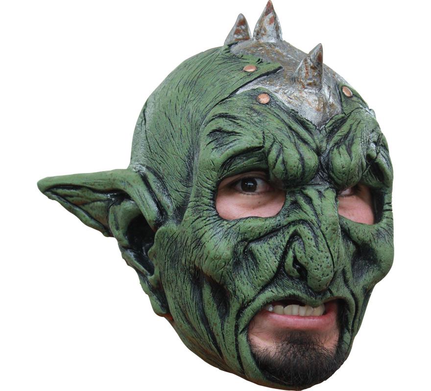 Máscara Orco sin Barbilla para Halloween