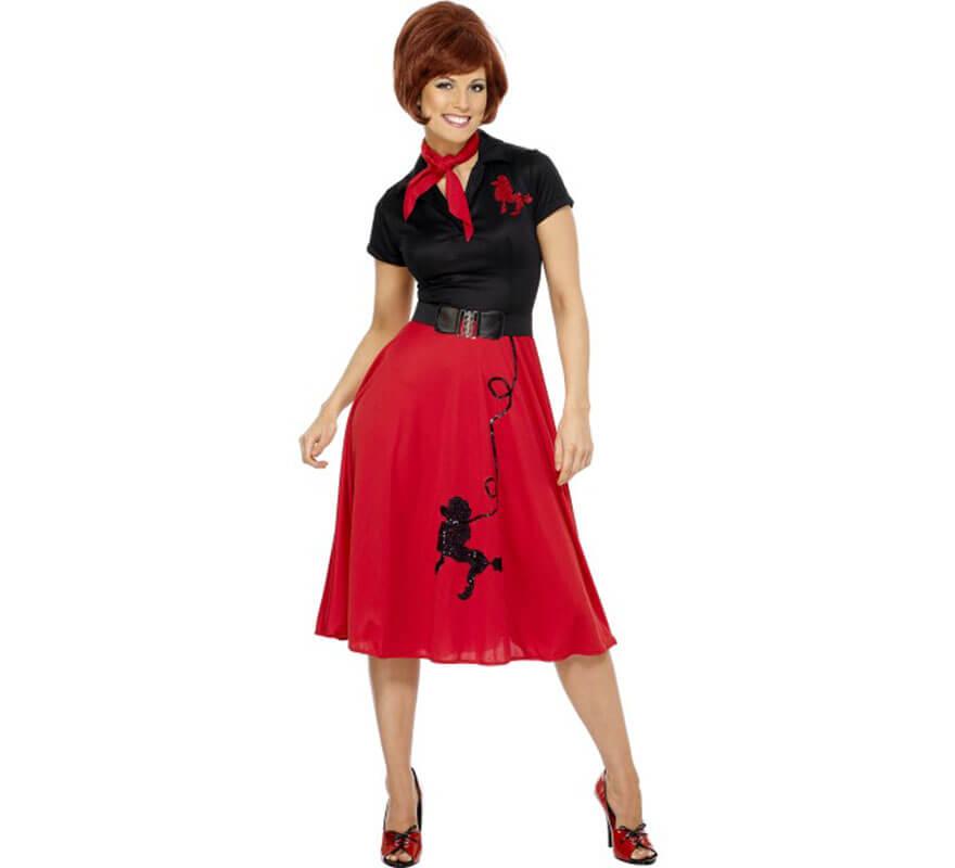 0f879abd156e Déguisement des années 50 pour Femme plusieurs tailles