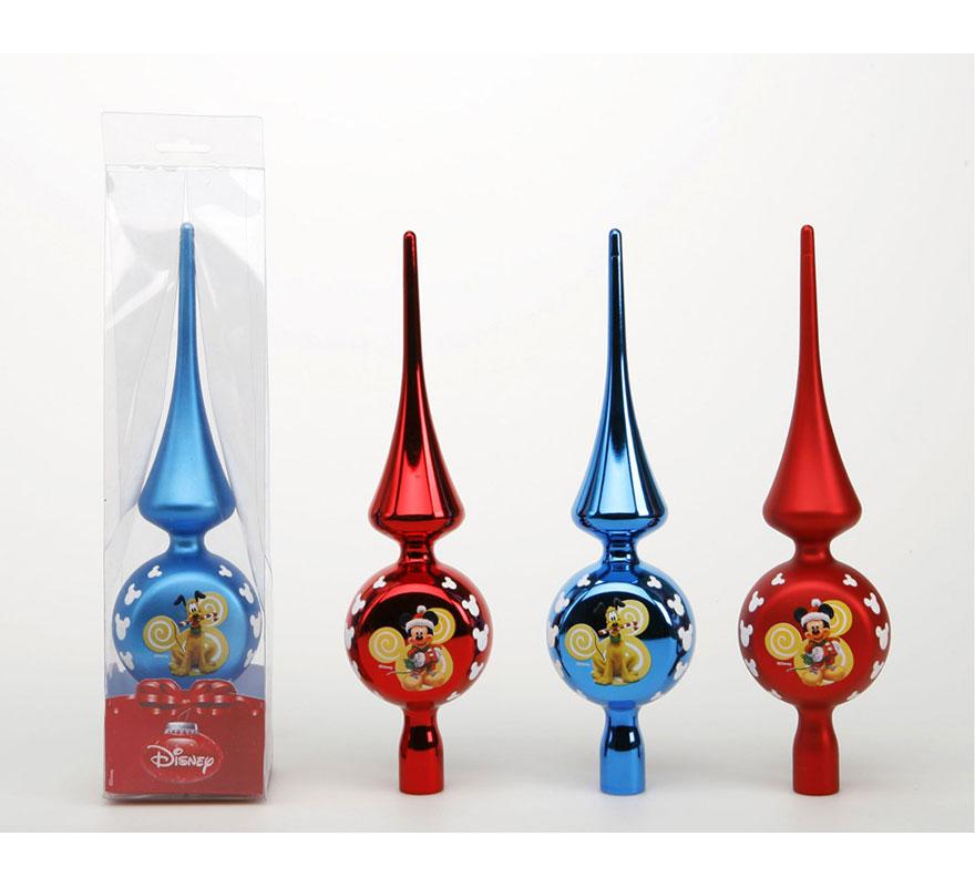 Adorno para punta rbol 30 cm mickey mouse for Adornos navidenos mickey mouse