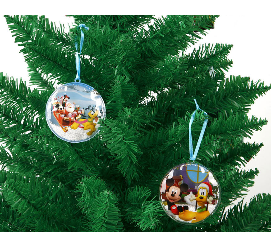 Adorno inflable Mickey para abeto de Navidad