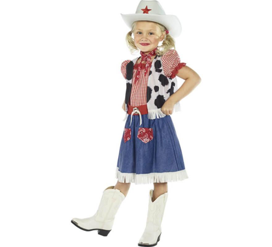3a5e38e7a7de0 Disfraz de Cowgirl o Vaquera para Niña