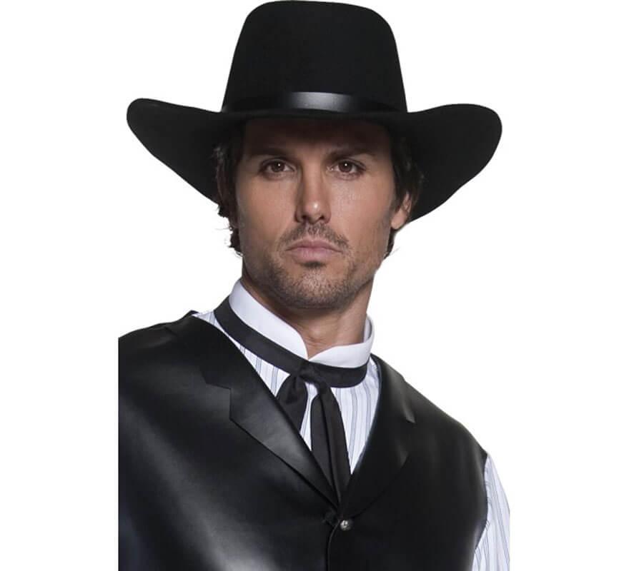 Sombrero de Forajido de Ala Ancha para hombre