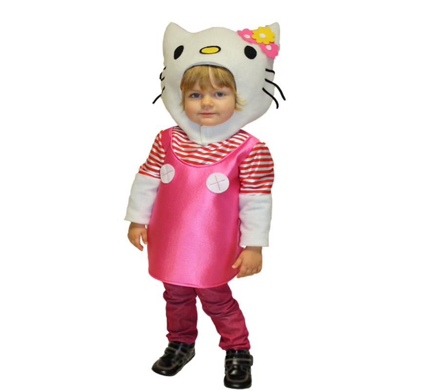 Disfraz de gatita blanca para ni as en varias tallas - Disfraces de gatitas para nina ...