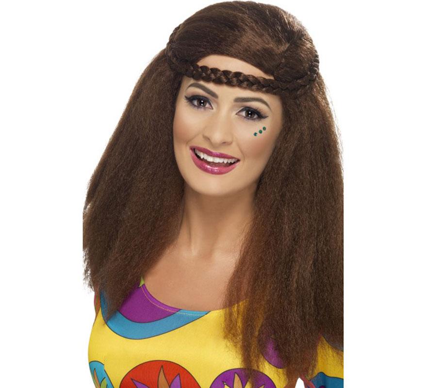 Peinados para disfraz de hippie