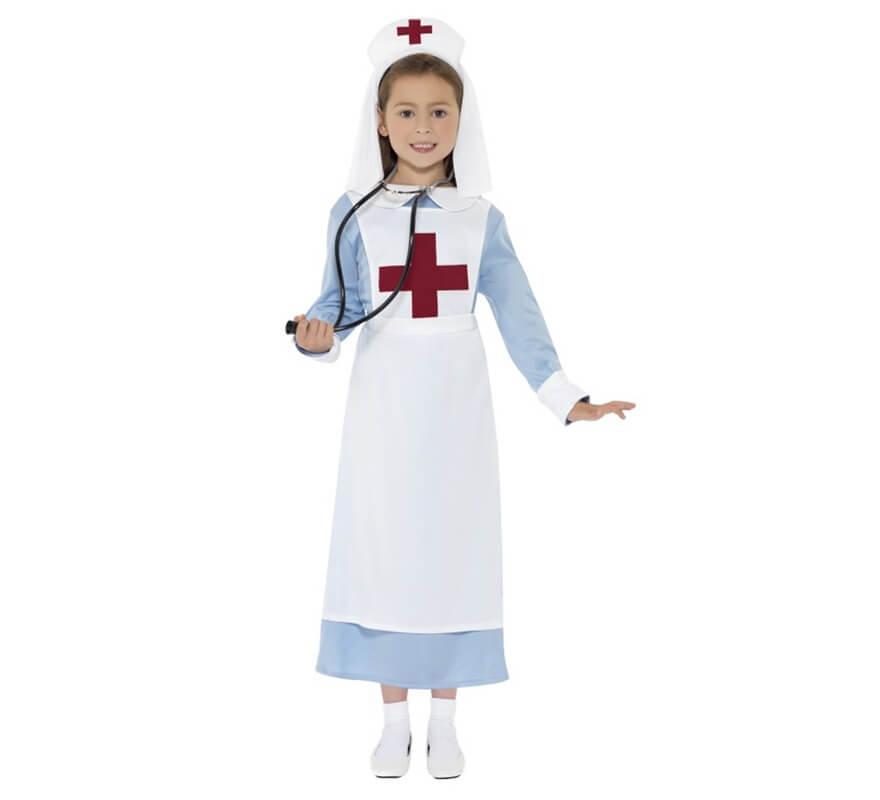 Disfraz Enfermera de la 1ª GM para Niñas b6092b1019b