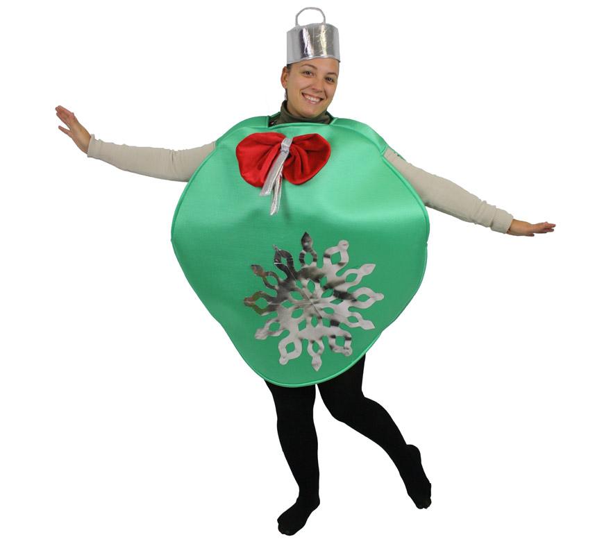 Disfraz de bola de rbol de navidad para adultos - Disfraz de navidad ...