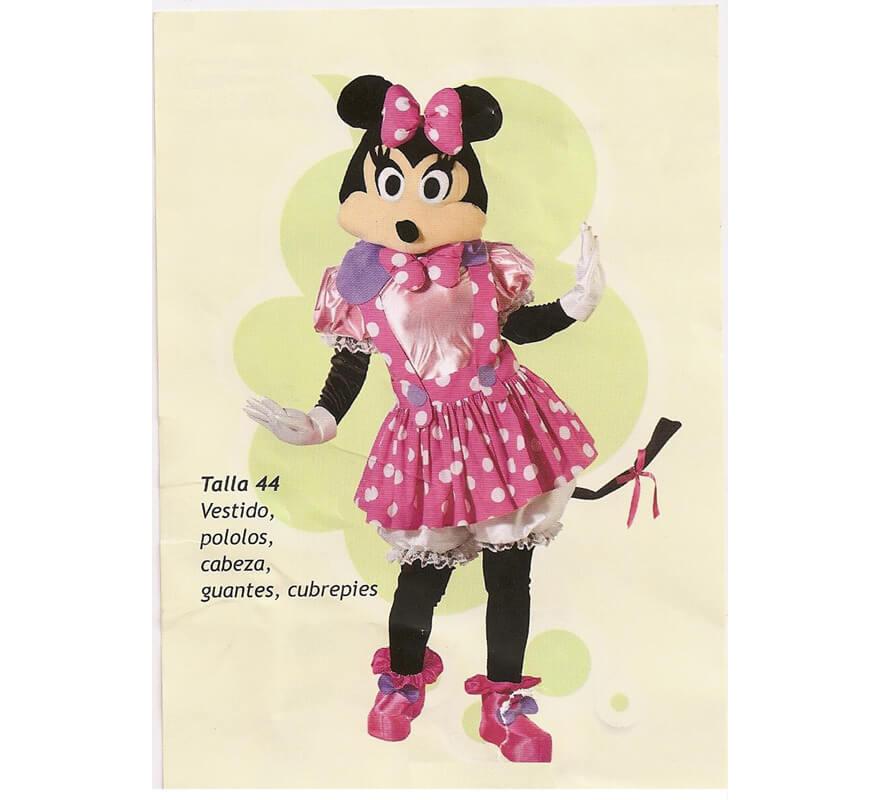 Disfraz de Ratona para mujer