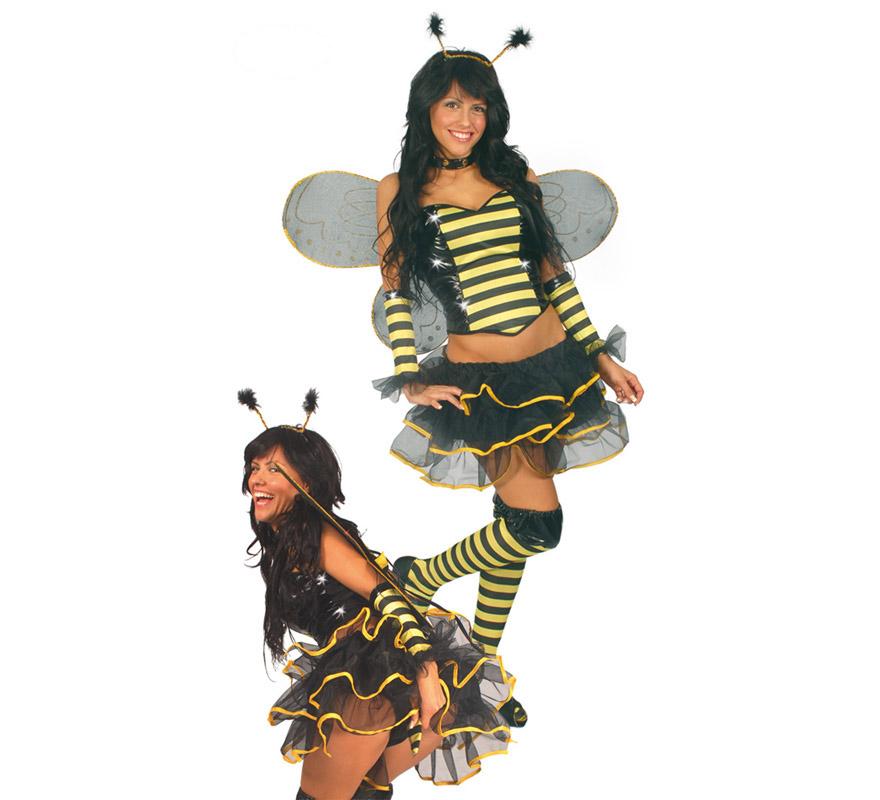 d guisement d 39 abeille sexy pour femme carnaval. Black Bedroom Furniture Sets. Home Design Ideas