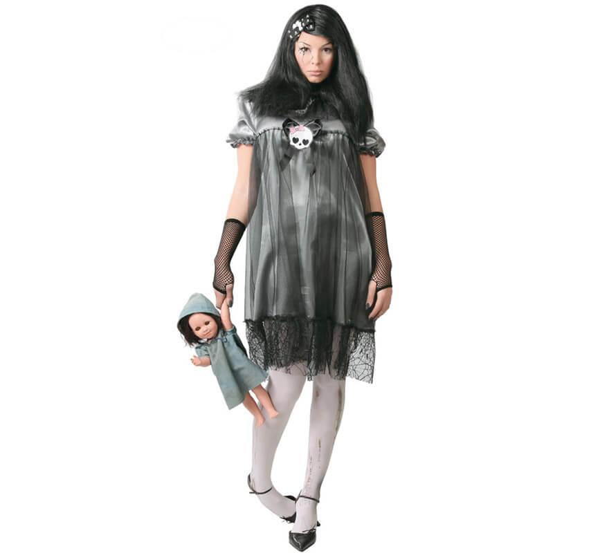 Disfraz de Muñeca Diabólica de mujer para Halloween