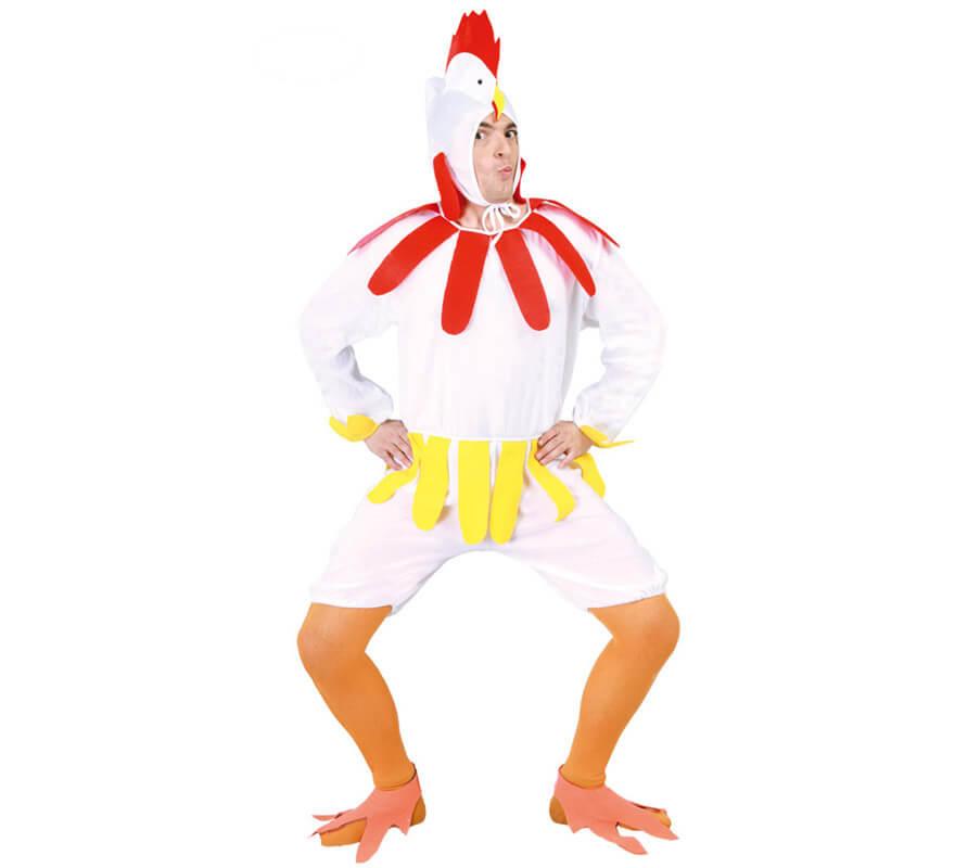 disfraz de gallina para hombre