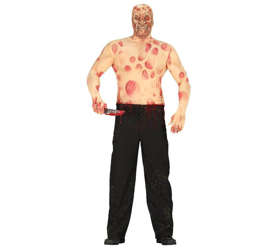 Disfraz de Hombre Quemado de Halloween para hombres