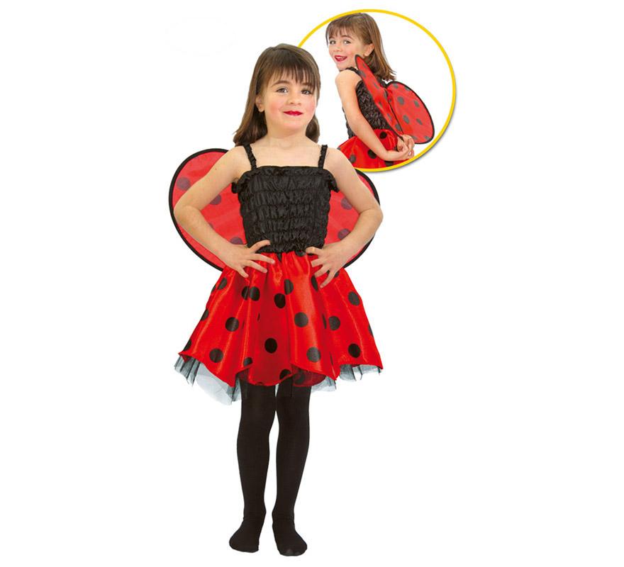 Disfraz de Mariquita infantil para niñas 2-4 años