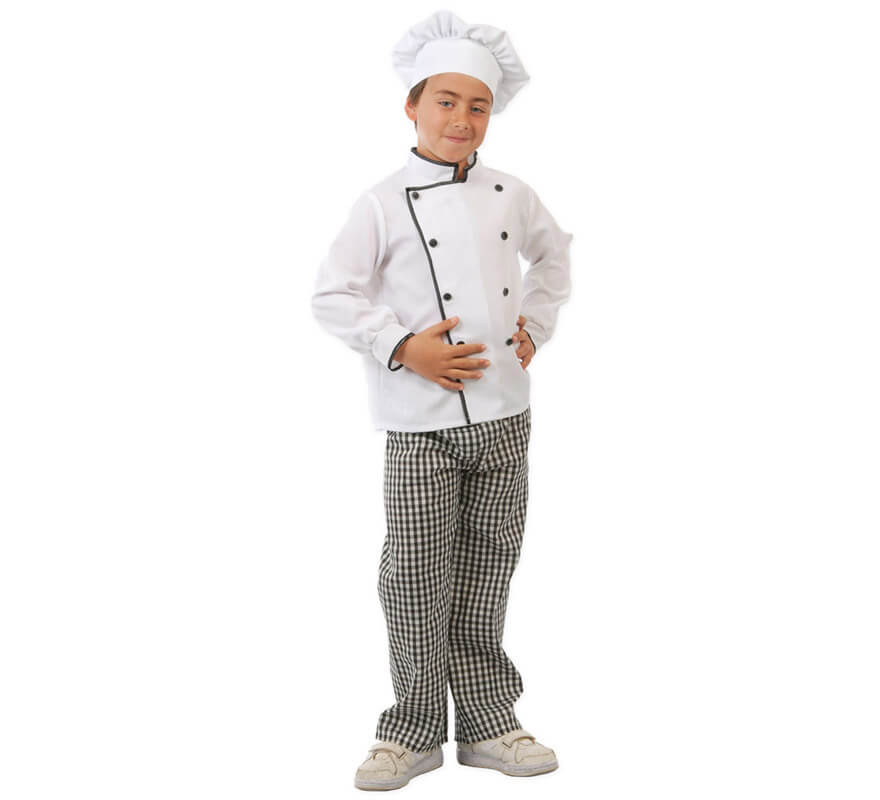Disfraz de cocinero para ni os for Accesorios para chef
