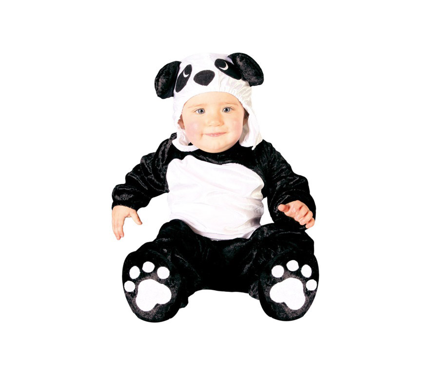 Disfraz de Oso Panda para bebés