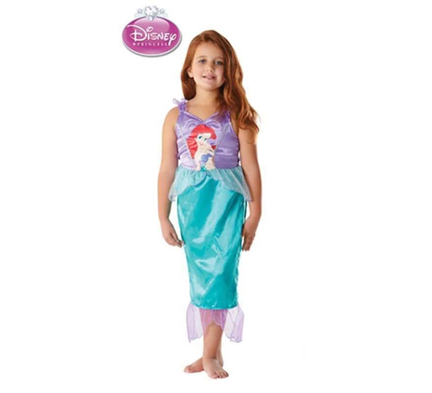 Disfraz De Ariel Classic Para Ninas