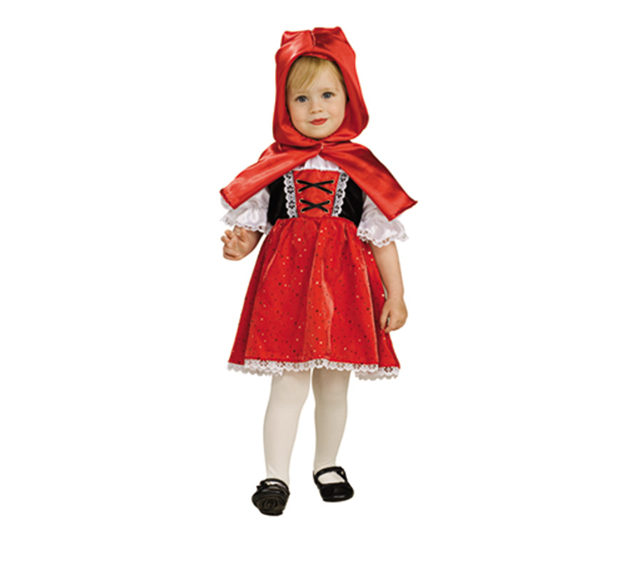 Disfraz de caperucita roja para ni as de 1 a 2 a o - Disfraz halloween bebe 1 ano ...