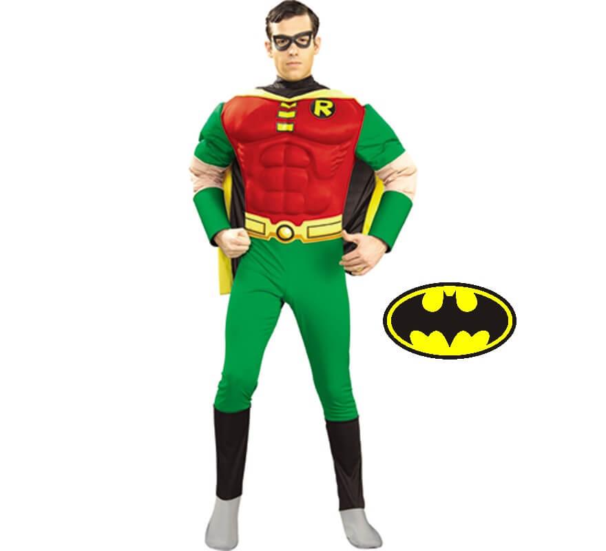 d guisement robin de batman pour homme taille m. Black Bedroom Furniture Sets. Home Design Ideas