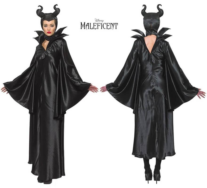 Disfraz De Malefica Para Mujer - Trajes-de-hallowen