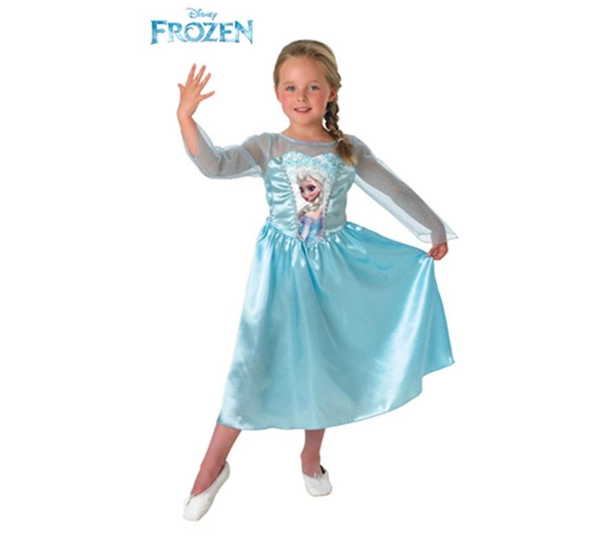 Disfraz de Elsa de Frozen para Niña