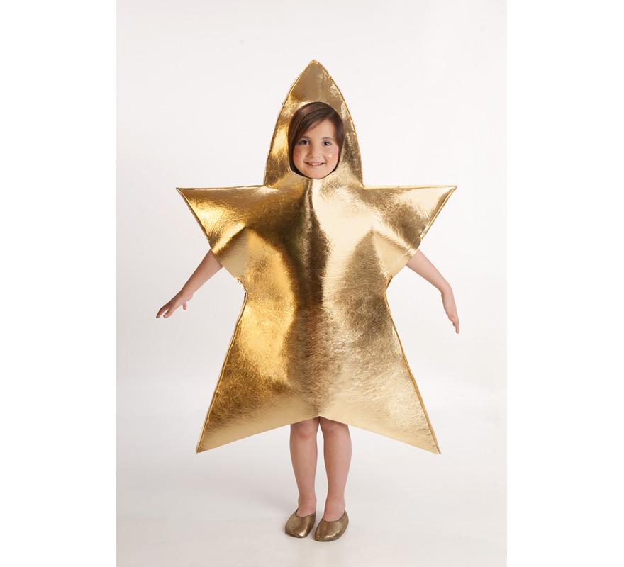 Disfraz de estrella de navidad para ni a de 5 a 7 a os - Disfraces para ninos de navidad ...