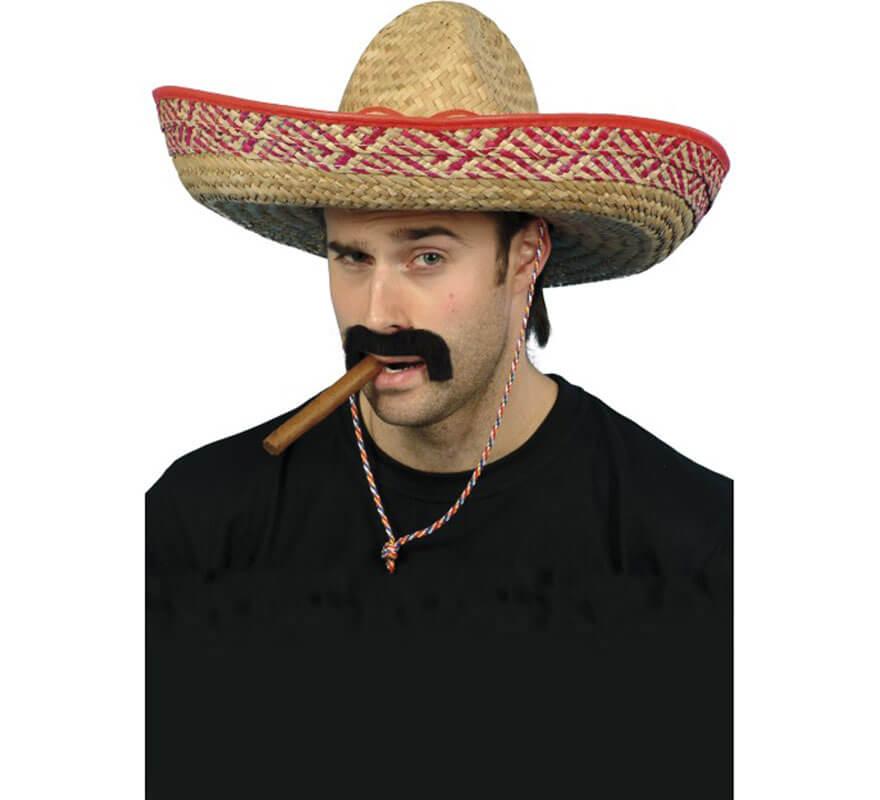 Sombrero de Bandolero Mexicano de Paja