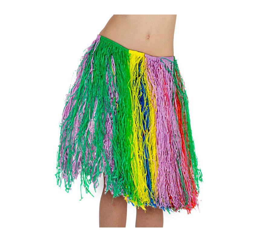 8ff9dd6a0 Falda Hawaiana multicolor