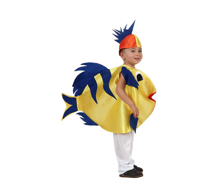 Disfraz de pez para ni os - Disfraces de pina para ninos ...