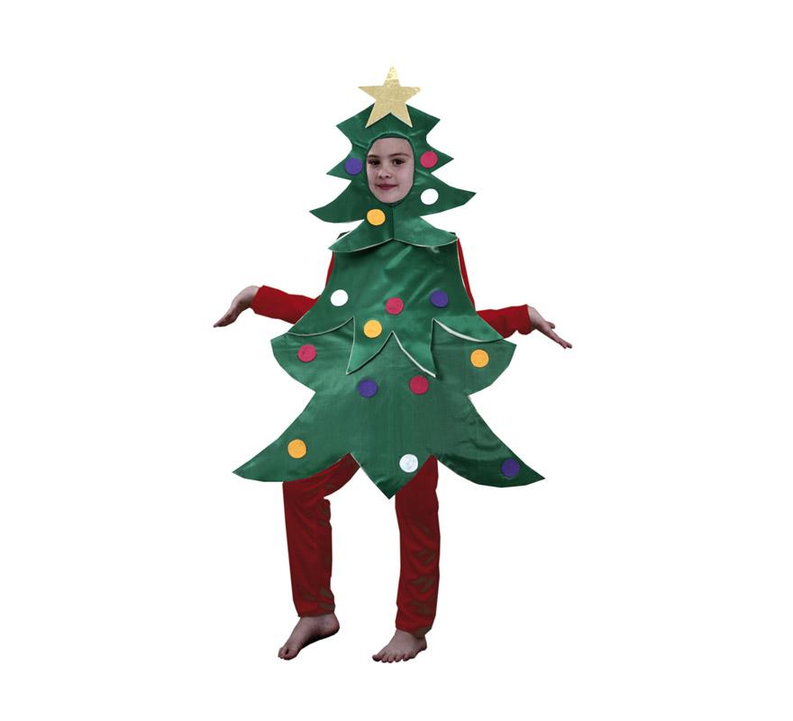 Disfraz de rbol de navidad para ni os - Arbol de navidad infantil ...