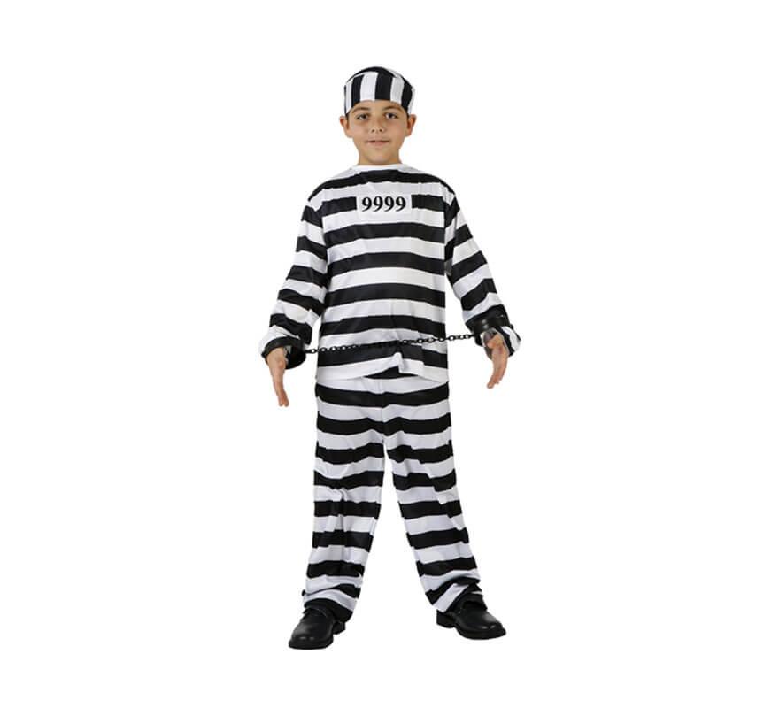 Disfraz de Presidiario para niños