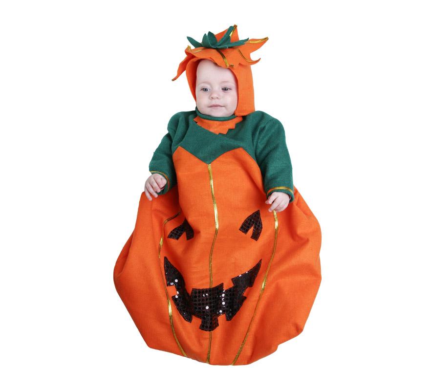 Saquito Calabaza 6 meses beb para Halloween