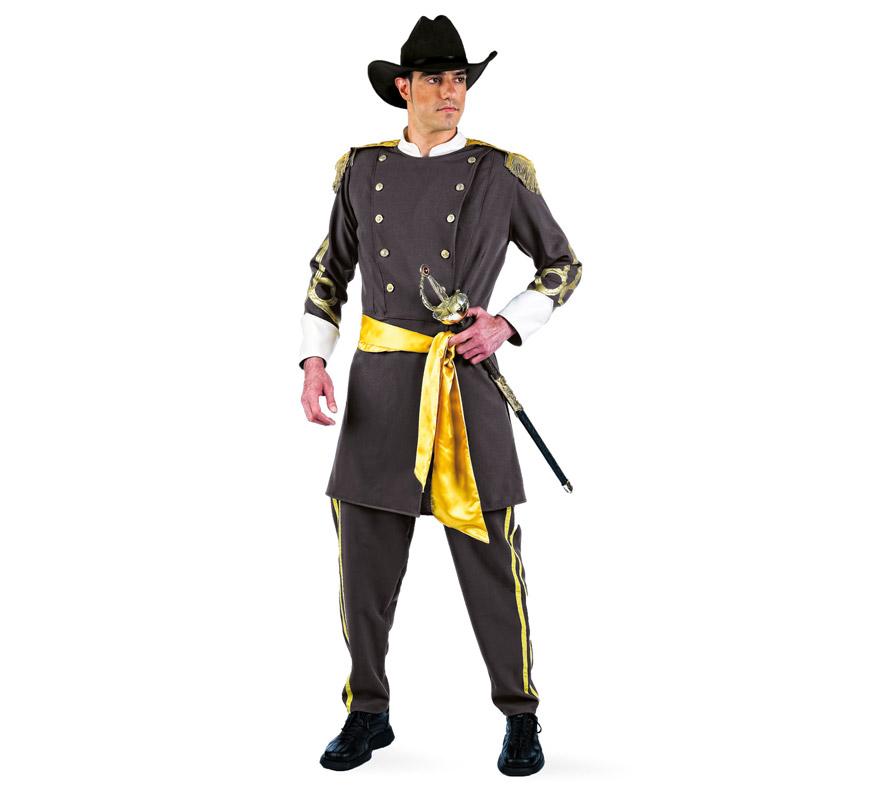 Disfraz de Confederado Deluxe para hombre