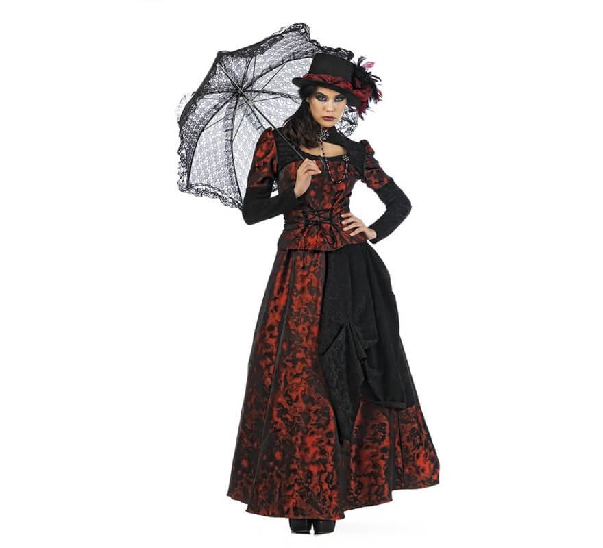 disfraz mujer 1900