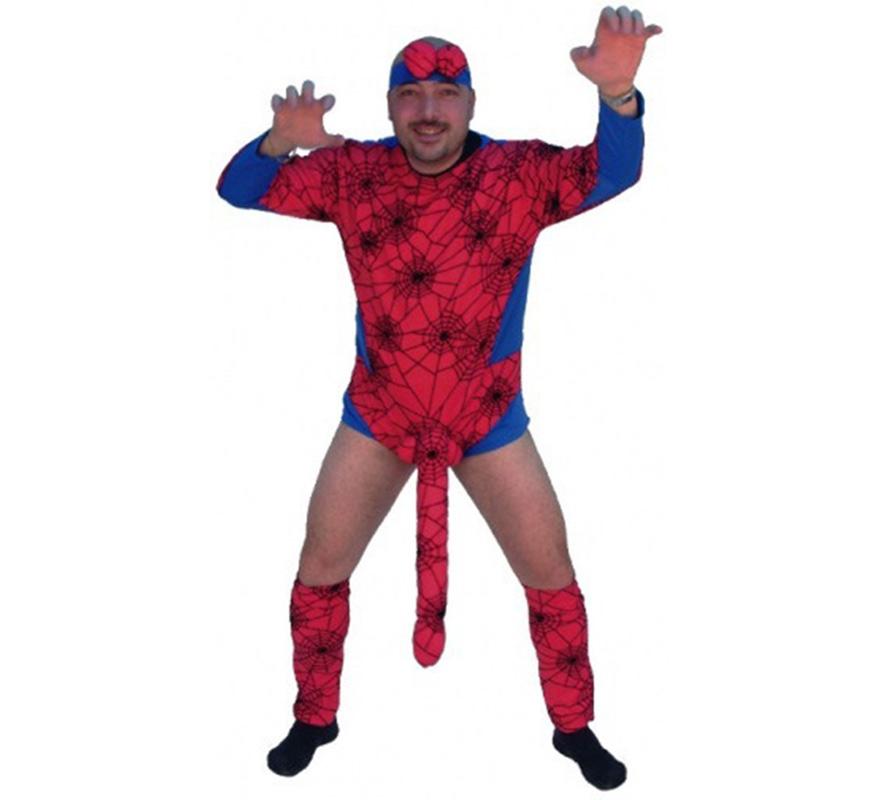 Disfraz de Espiderman sorpresa para hombre