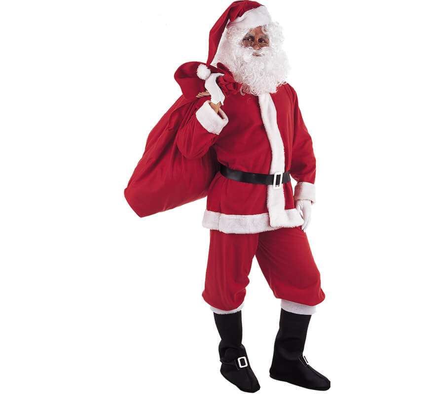 Disfraz de pap noel traje de pap noel - Disfraz papa noel nino ...