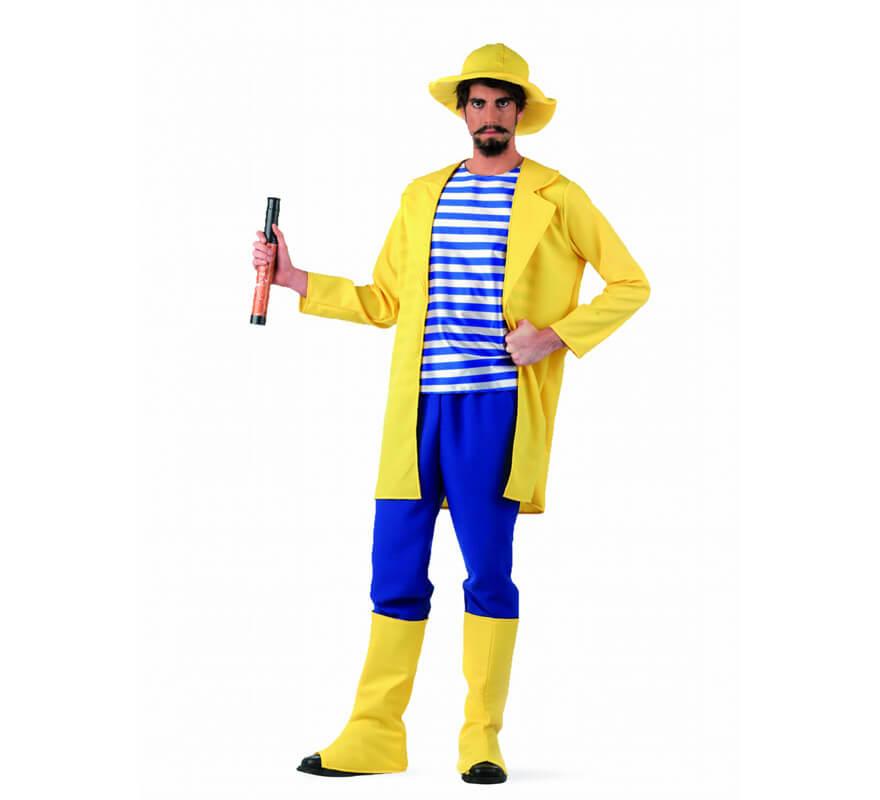 Disfraz de Pescador Deluxe para hombre 8500b0ed4bf