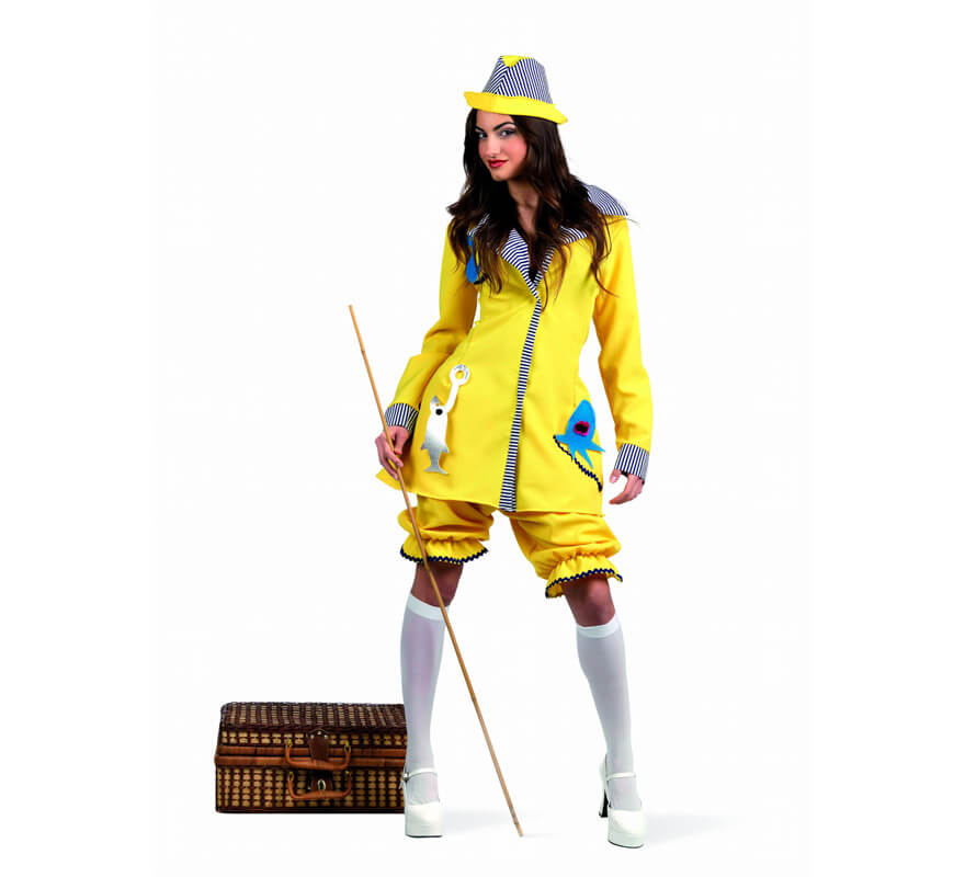 Disfraz de Pescadora Deluxe para mujer 3b2be2084be