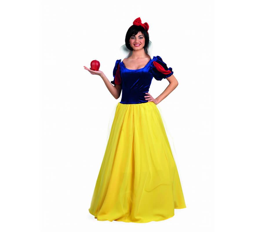 D guisement princesse des neige deluxe pour femme - Deguisement princesse des neiges ...