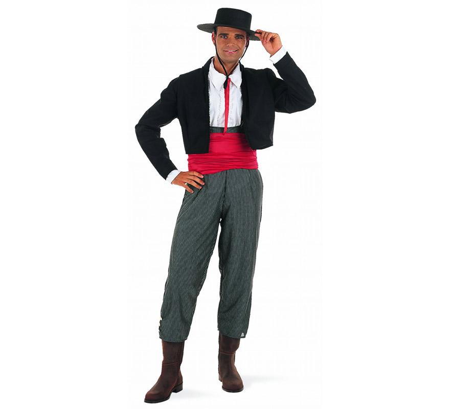 Hacer traje de flamenco para adultos