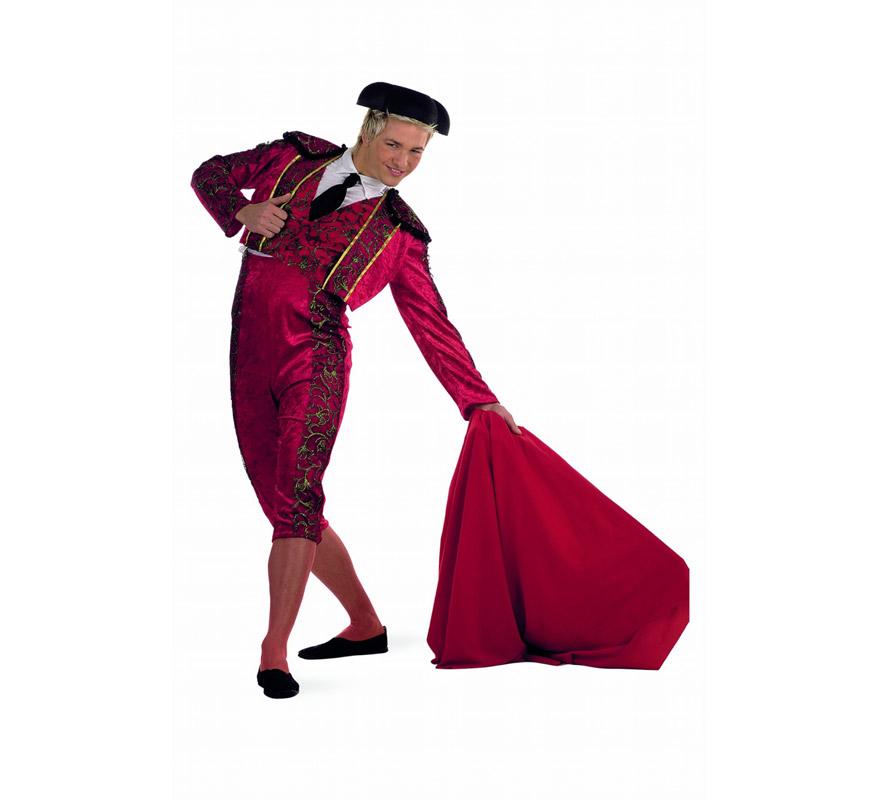 Disfraz de Torero Rojo deluxe para hombre 39e888d4253