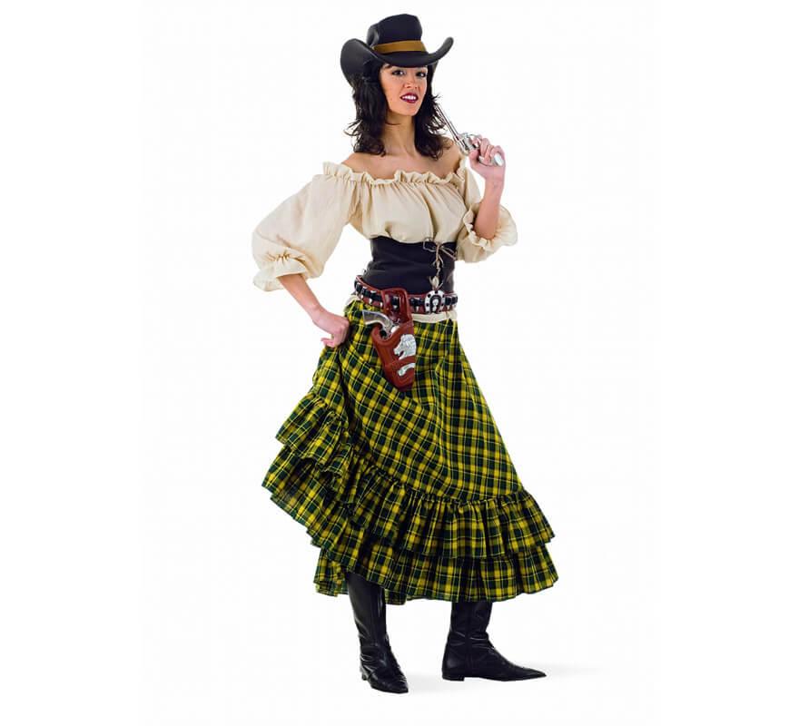 01a9cbb65175c Disfraz de Vaquera Bandida para mujer