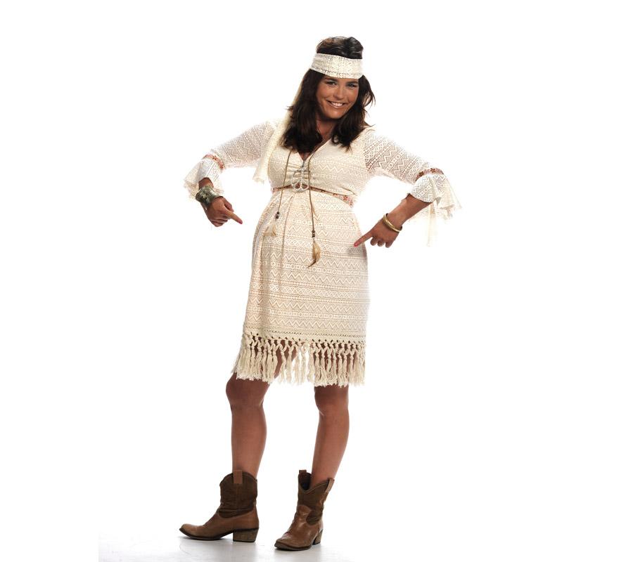 D guisement hippie pr maman deluxe pour femme - Deguisement pour femme enceinte ...