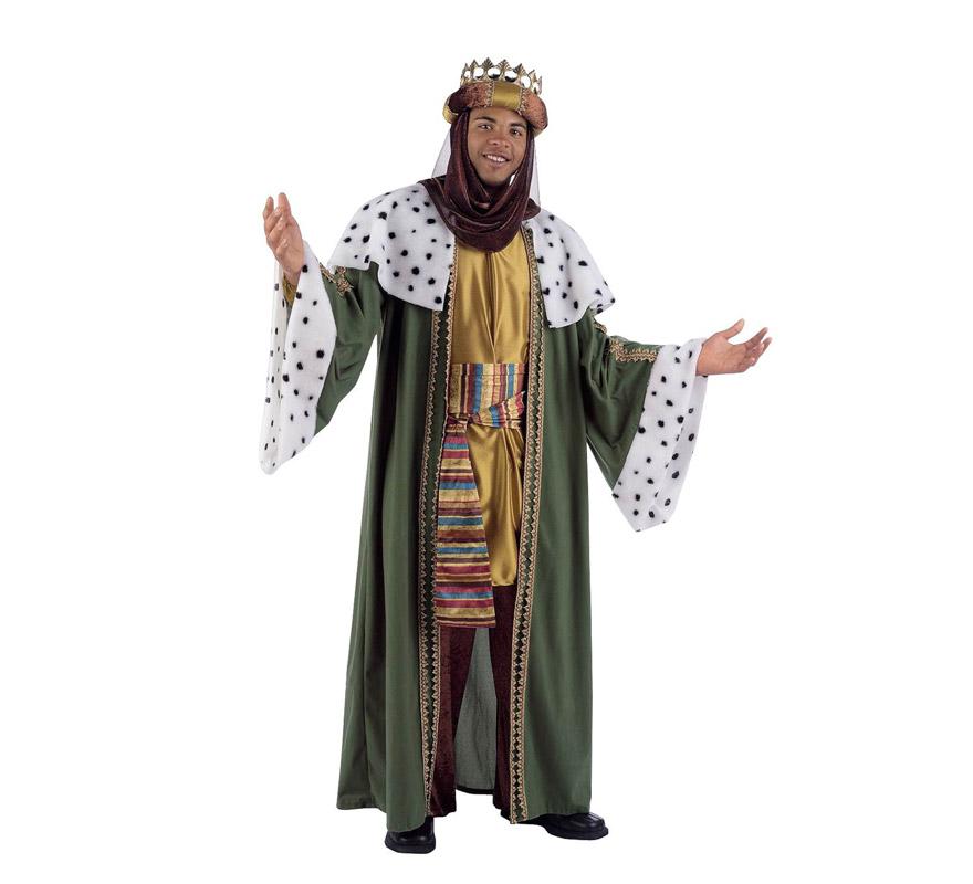 Disfraz de Rey Mago Baltasar  Traje de Rey Mago