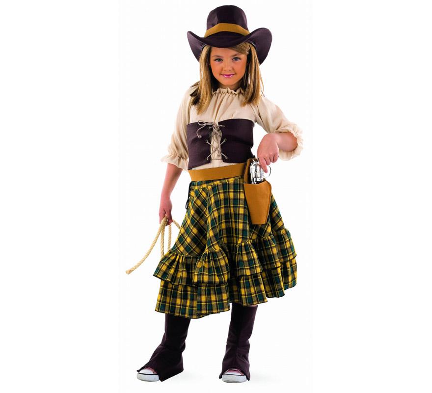d guisement cowgirl fille pour enfants plusieurs tailles. Black Bedroom Furniture Sets. Home Design Ideas