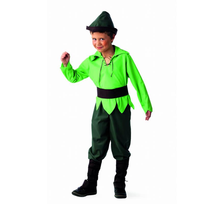 Disfraz de elfo del bosque deluxe para ni o - Disfraz elfo nino ...
