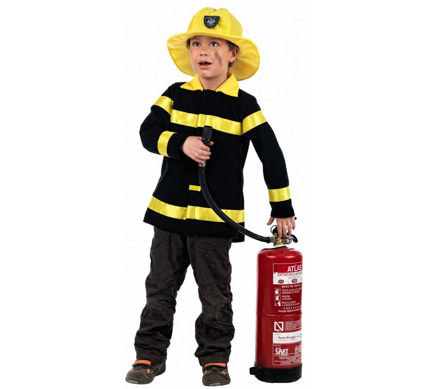 disfraz de bombero para ni os