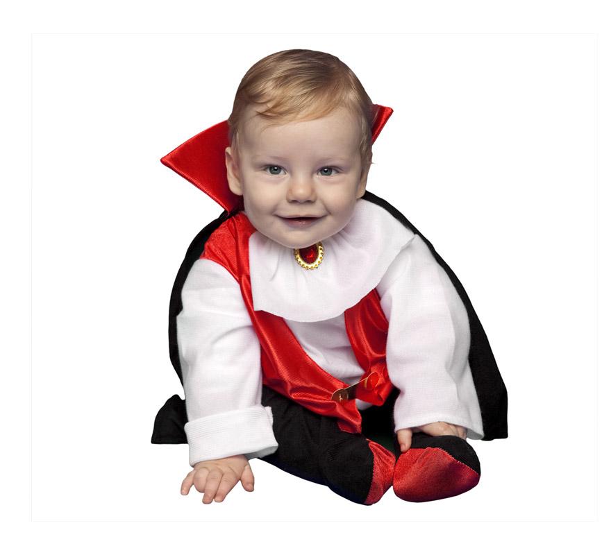 Disfraz de Drácula bebés de 6 a 12 meses Halloween