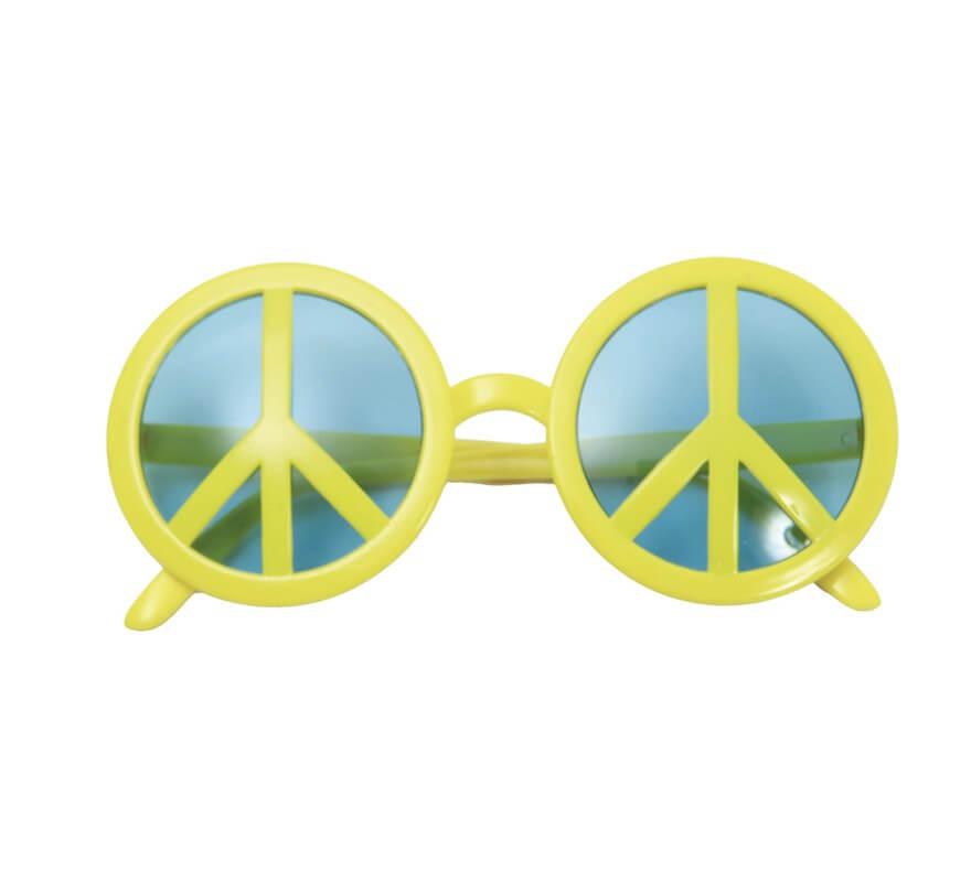 ebd006cb72 Gafas con Símbolo de La Paz amarillas
