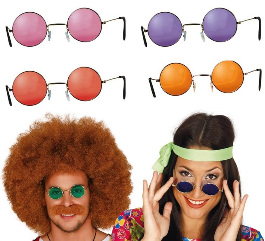 f5e9f6a92d Gafas de Hippie colores surtidos