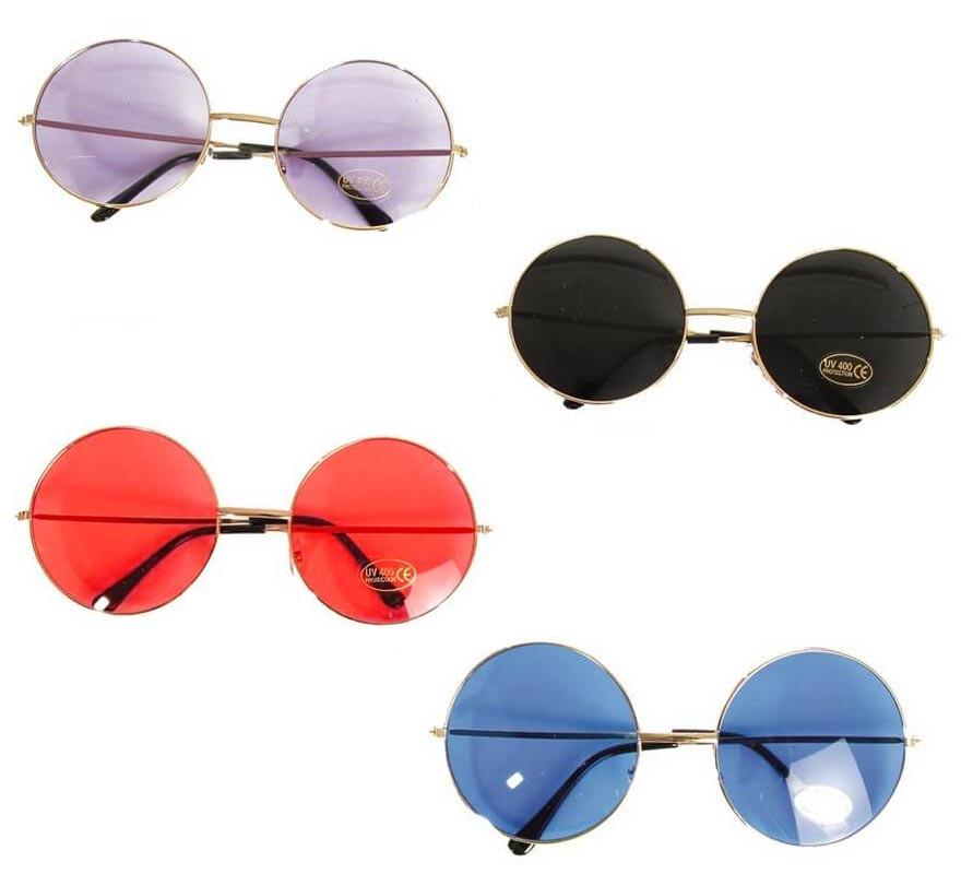 2fe68faac2 Gafas de Hippie redondas en colores surtidos